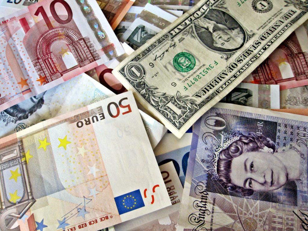 images money euro pound