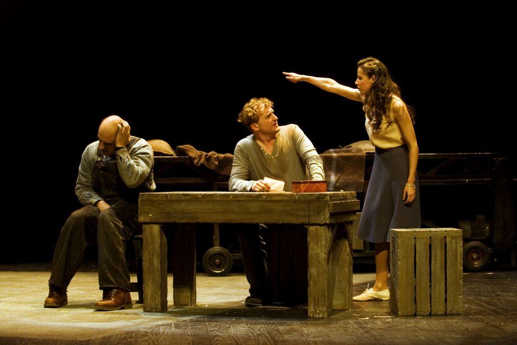 de ratones y hombres teatro espac3b1ol teatrera